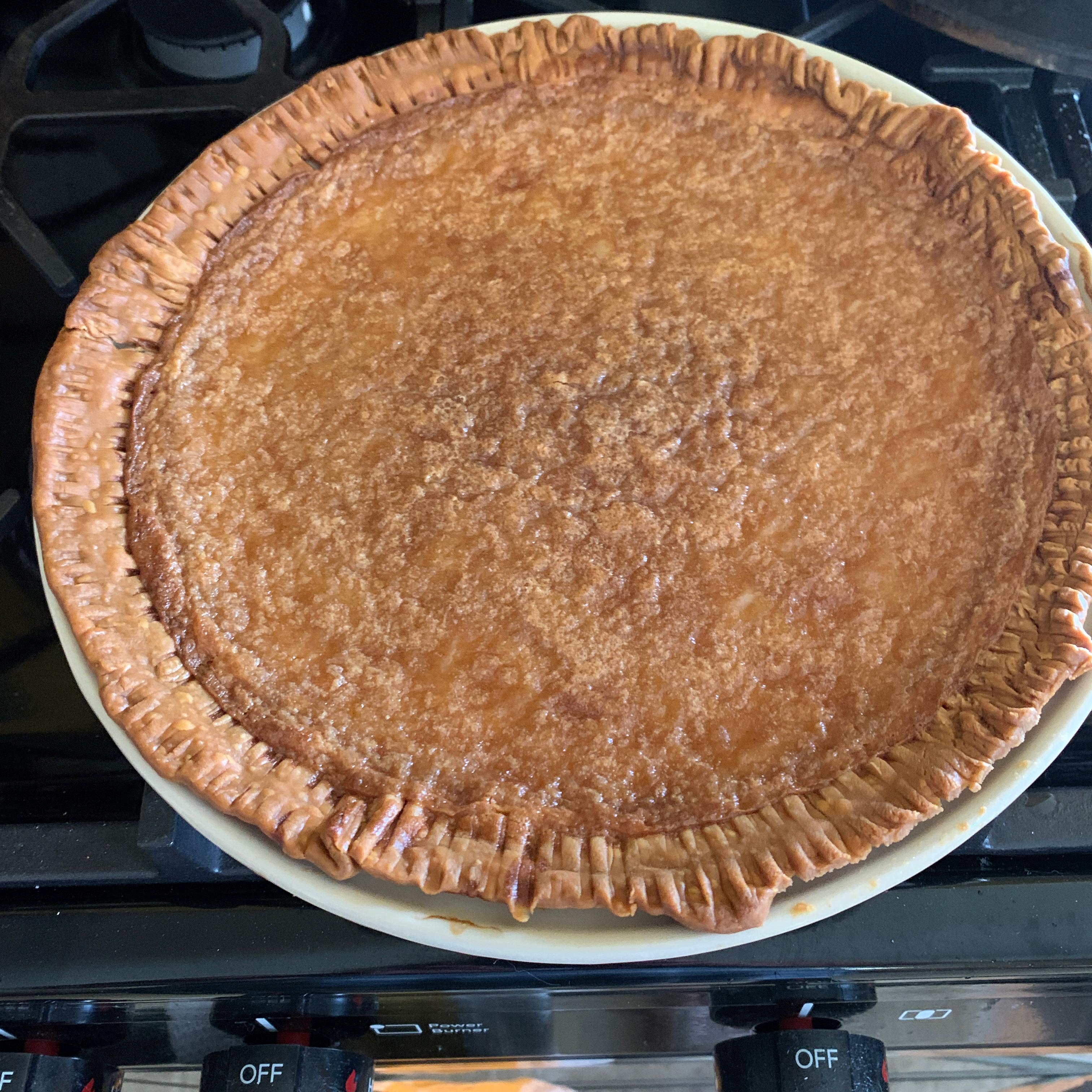Old Fashioned Cream Pie laura