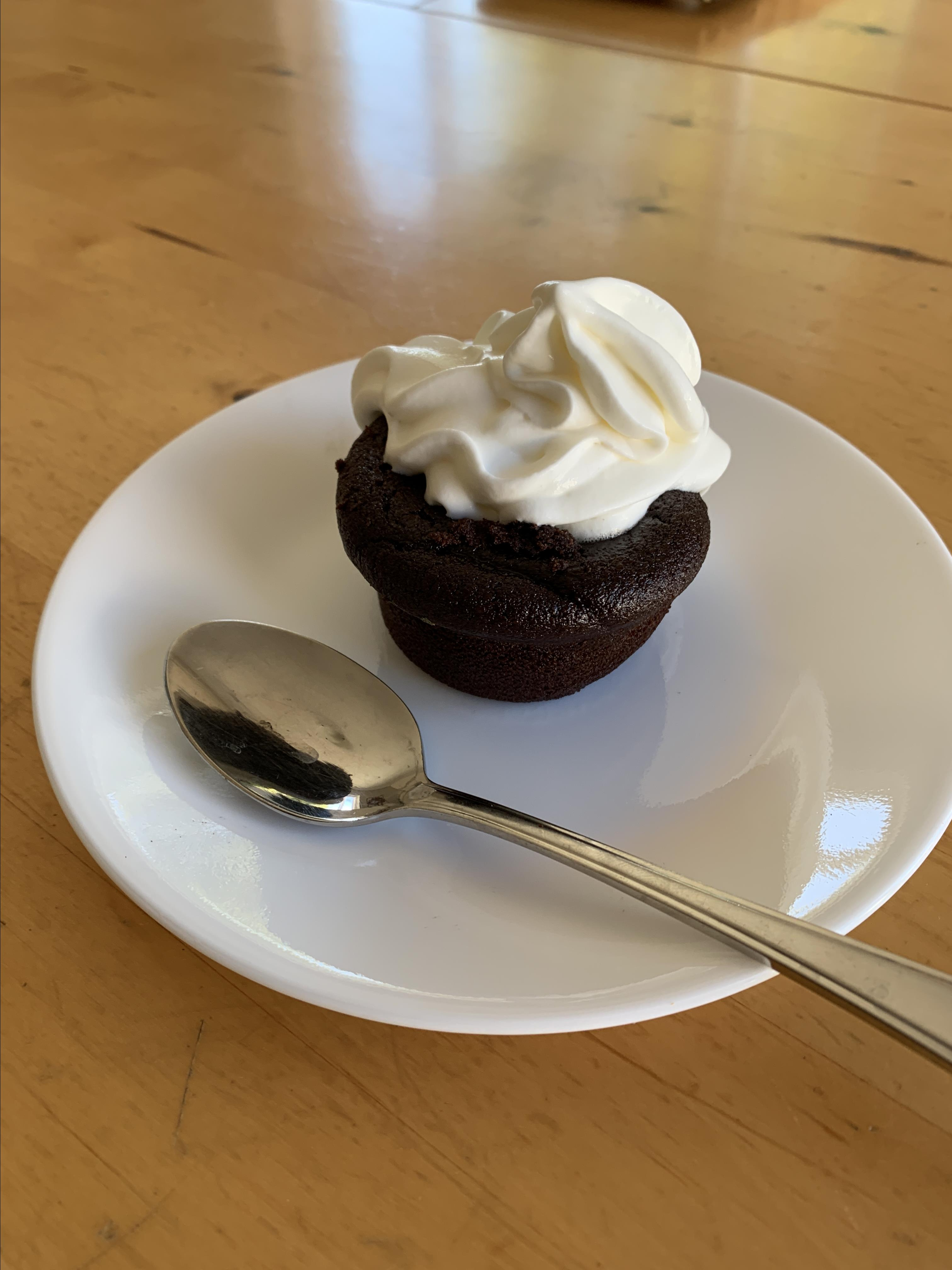 Gluten-Free Chocolate Chickpea Cupcakes