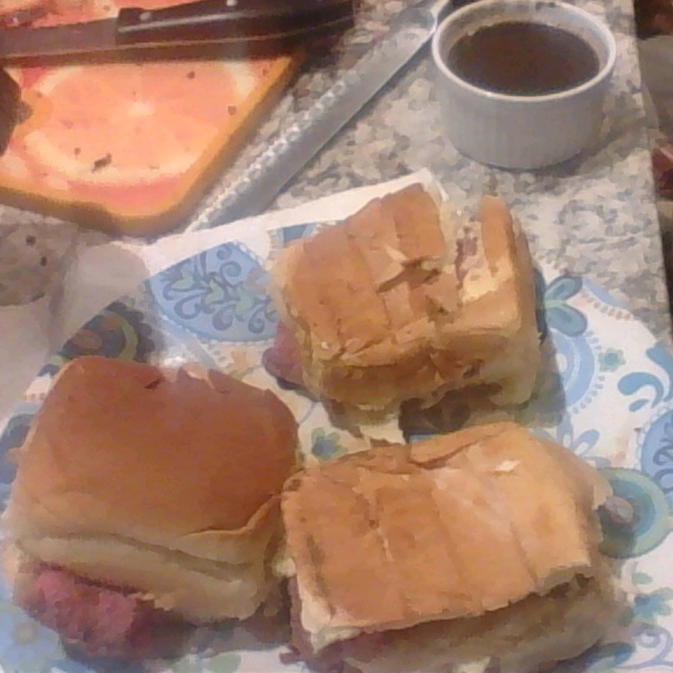 Chef John's Beef on Weck Sandwiches