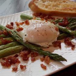 Roasted Asparagus Prosciutto and Egg Baking Nana