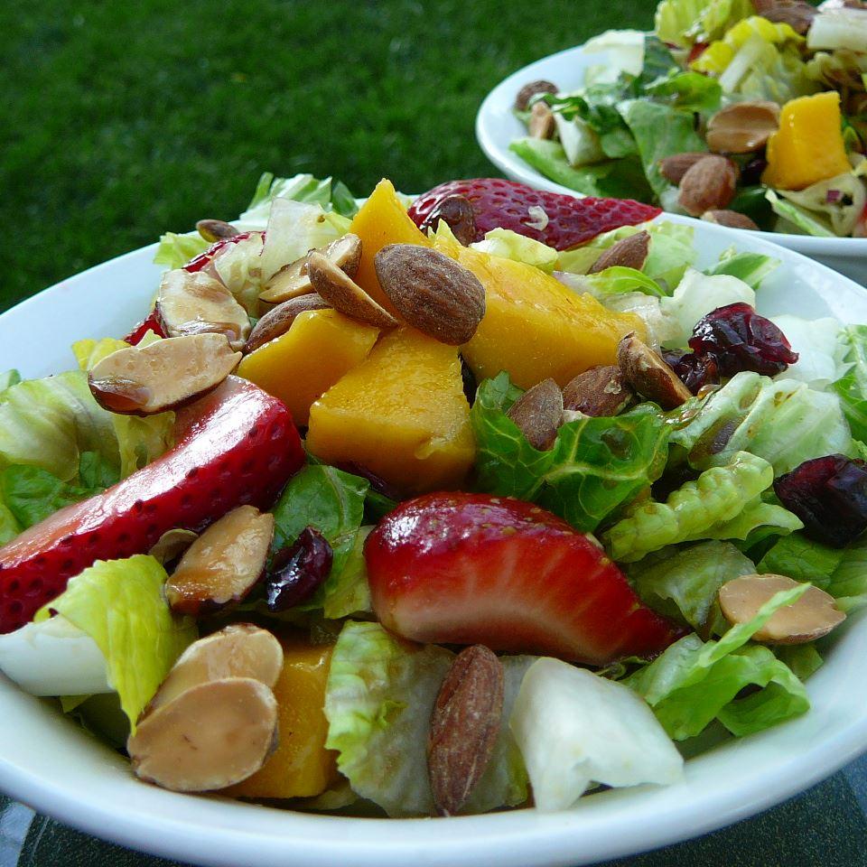 Strawberry-Mango Mesclun Salad Molly