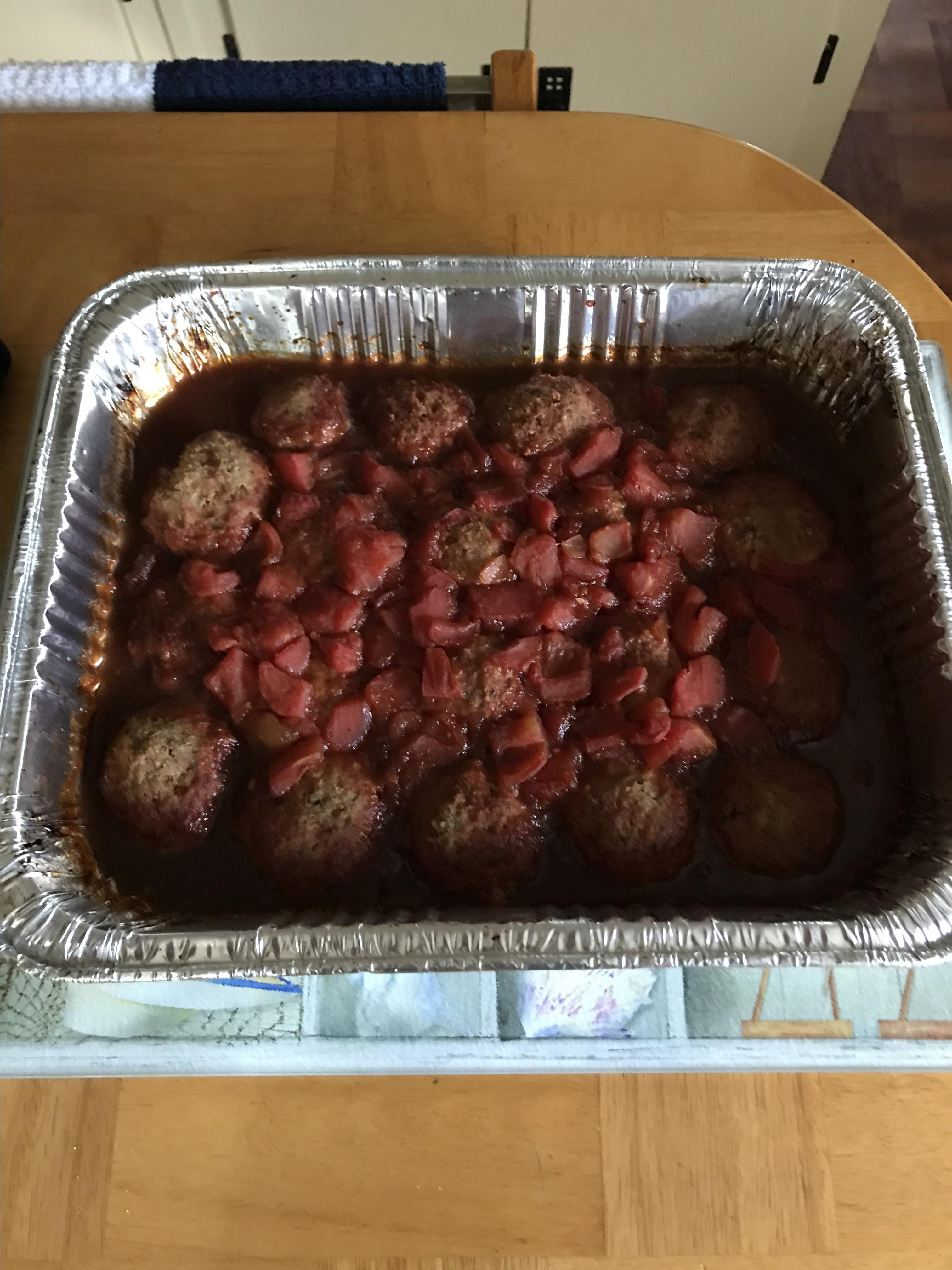 Lyndsie's Dr. Pepper® Meatballs RICO