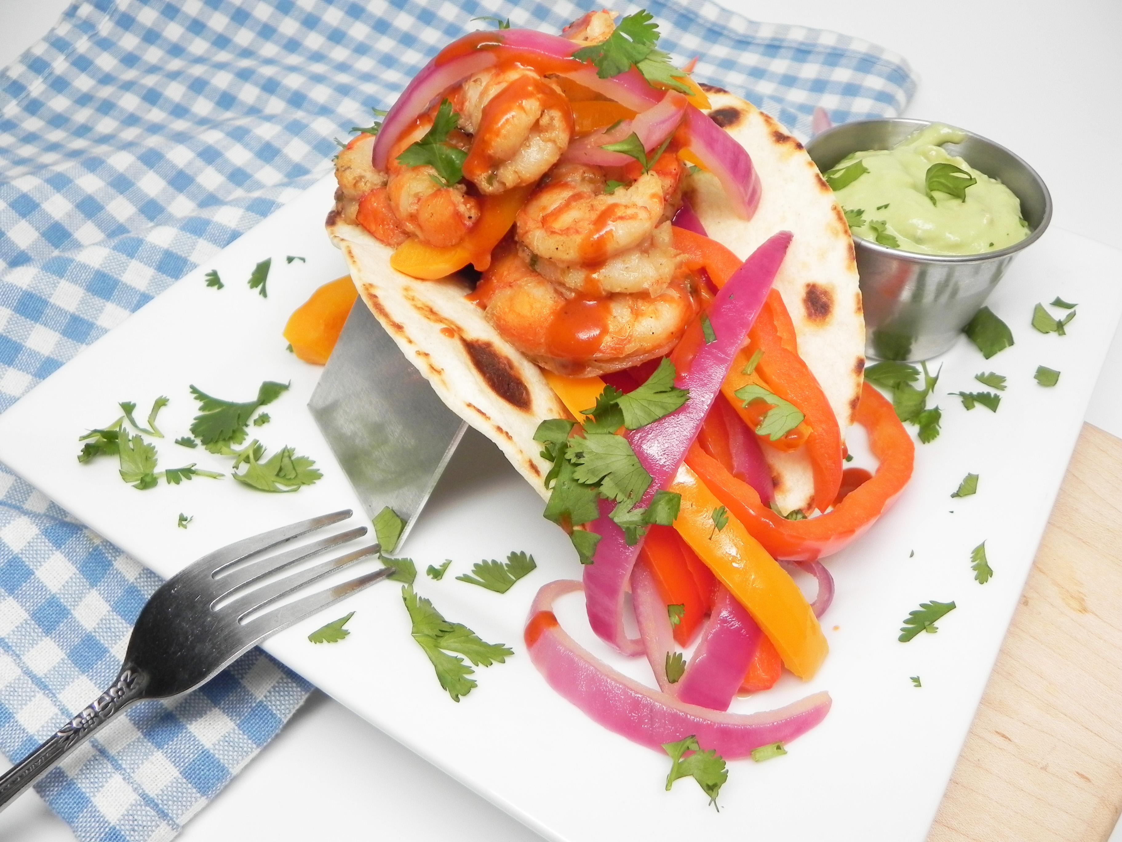 Shrimp Fajitas