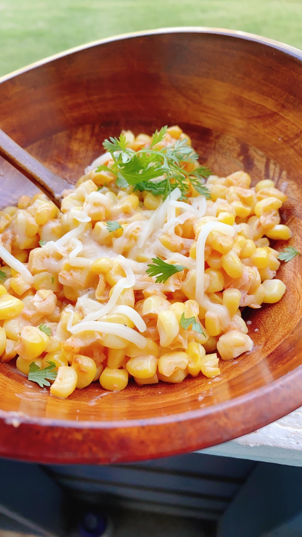 Southwestern Salsa Creamed Corn
