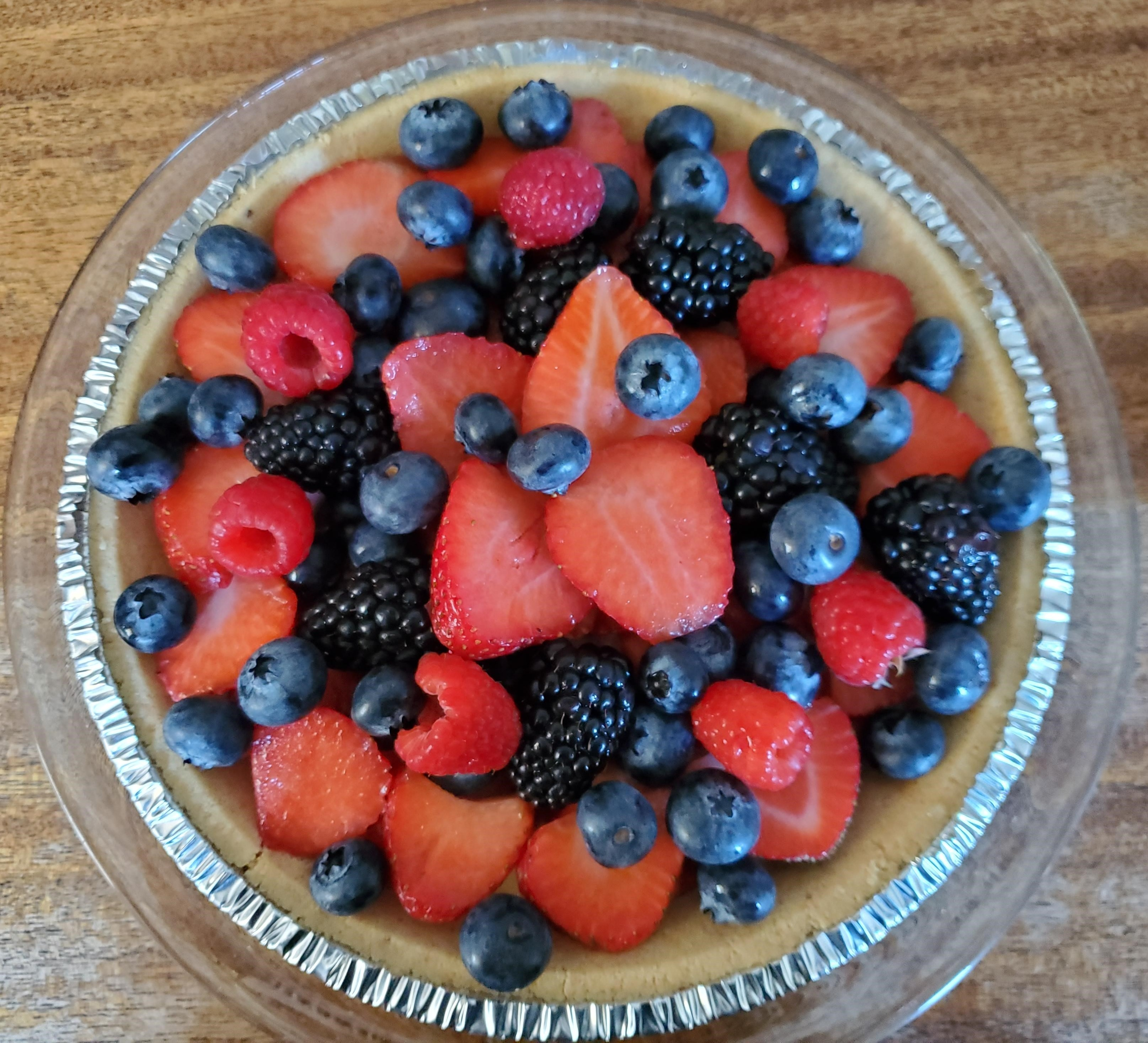 Summer Fruit Tart from Almond Breeze® Sueb