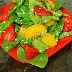 Strawberry Spinach Salad III GodivaGirl