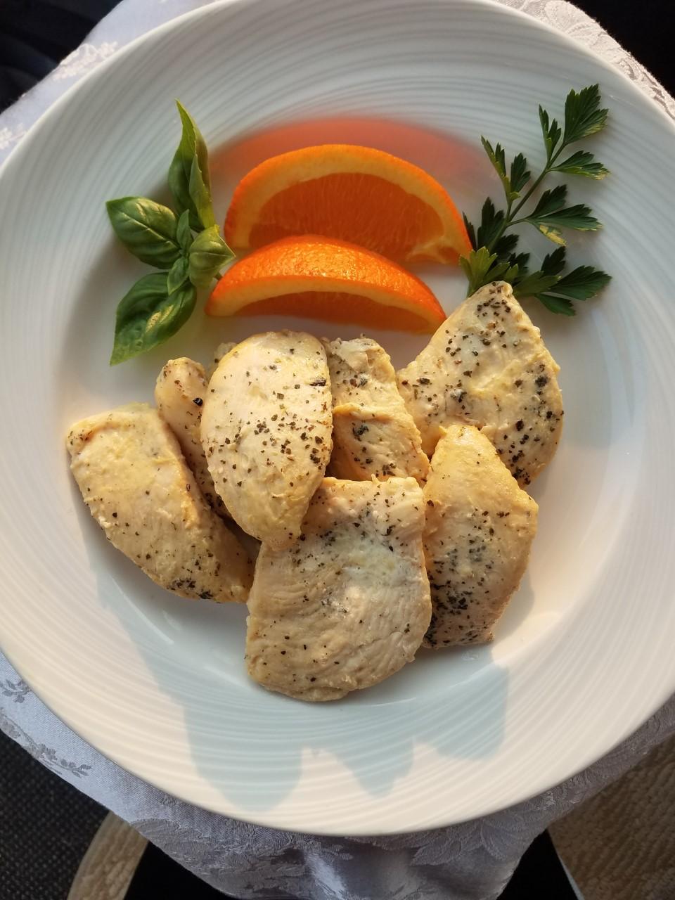 Honey Orange Basil Chicken