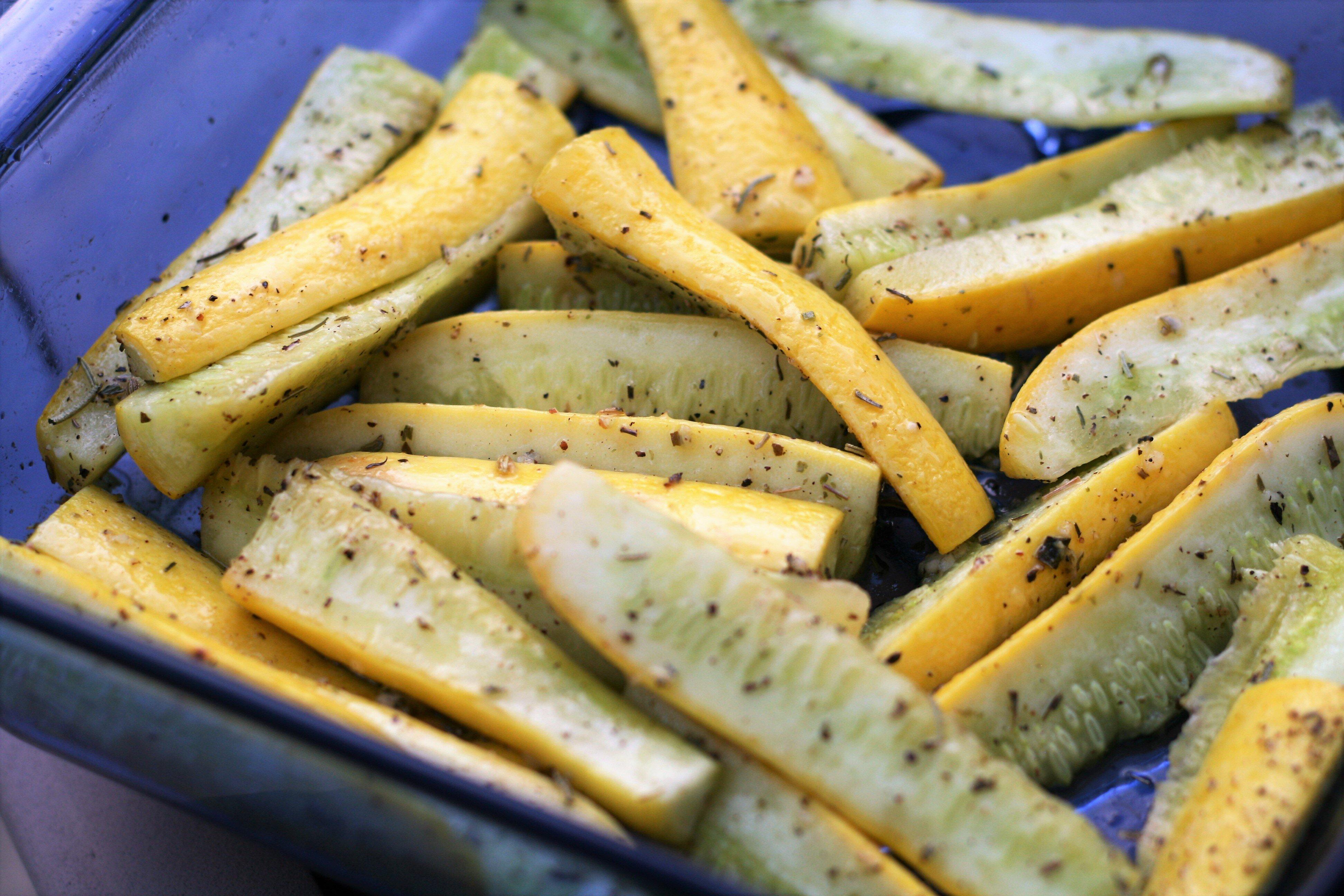 Garlic Roasted Summer Squash Recipe Allrecipes