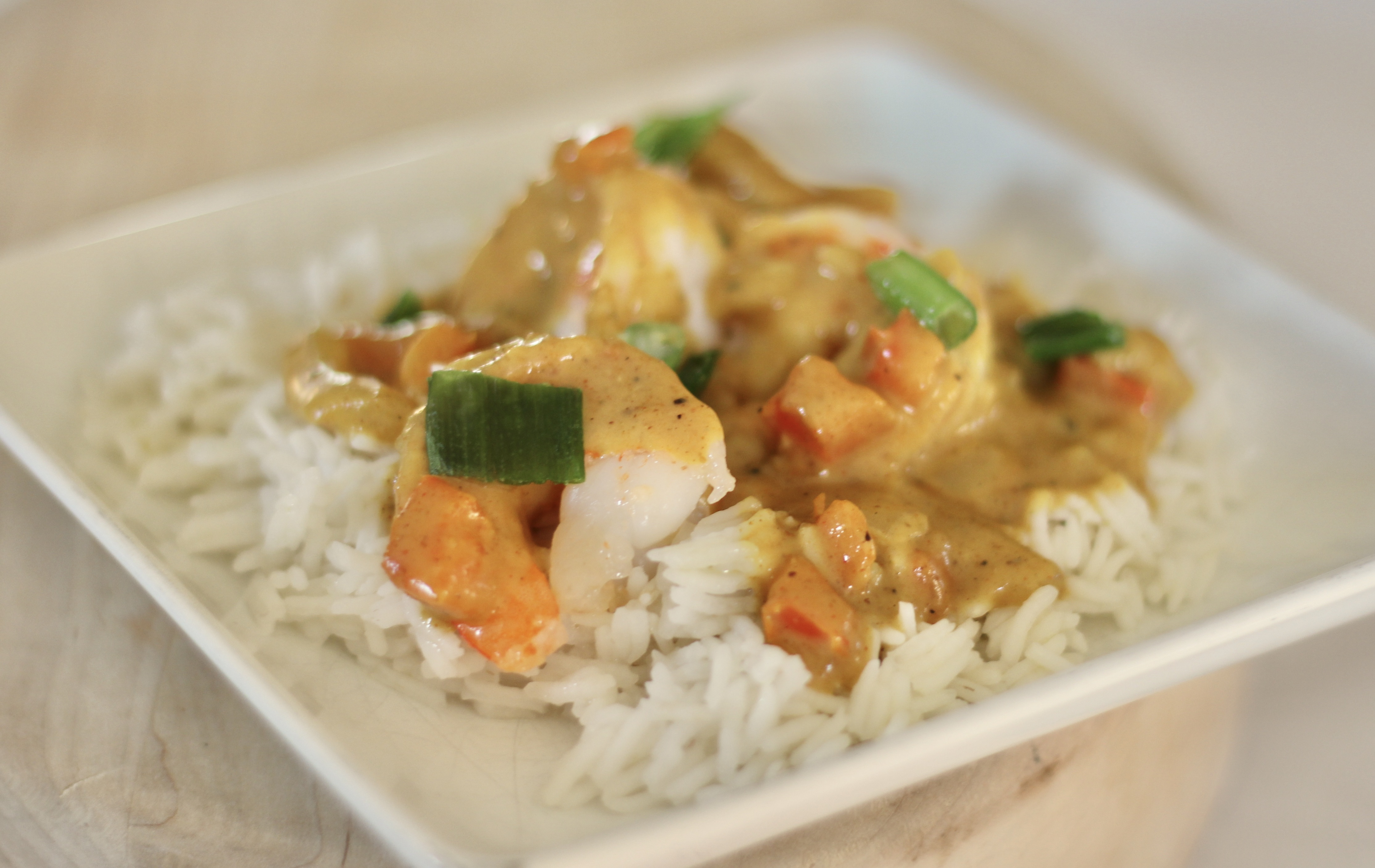 Creamy Coconut Curry with Shrimp