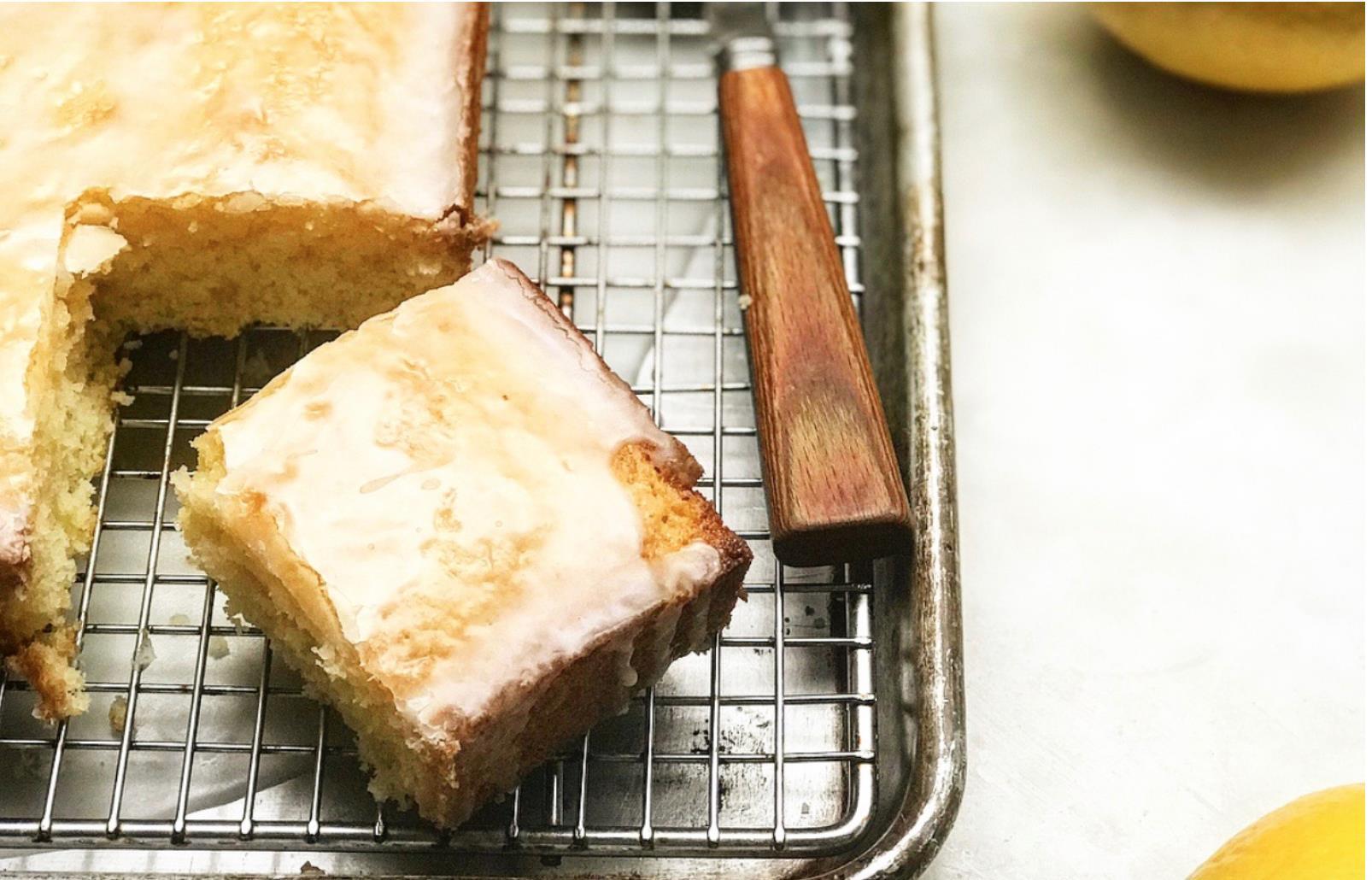 Lemon Velvet Sheet Cake Jessie Sheehan