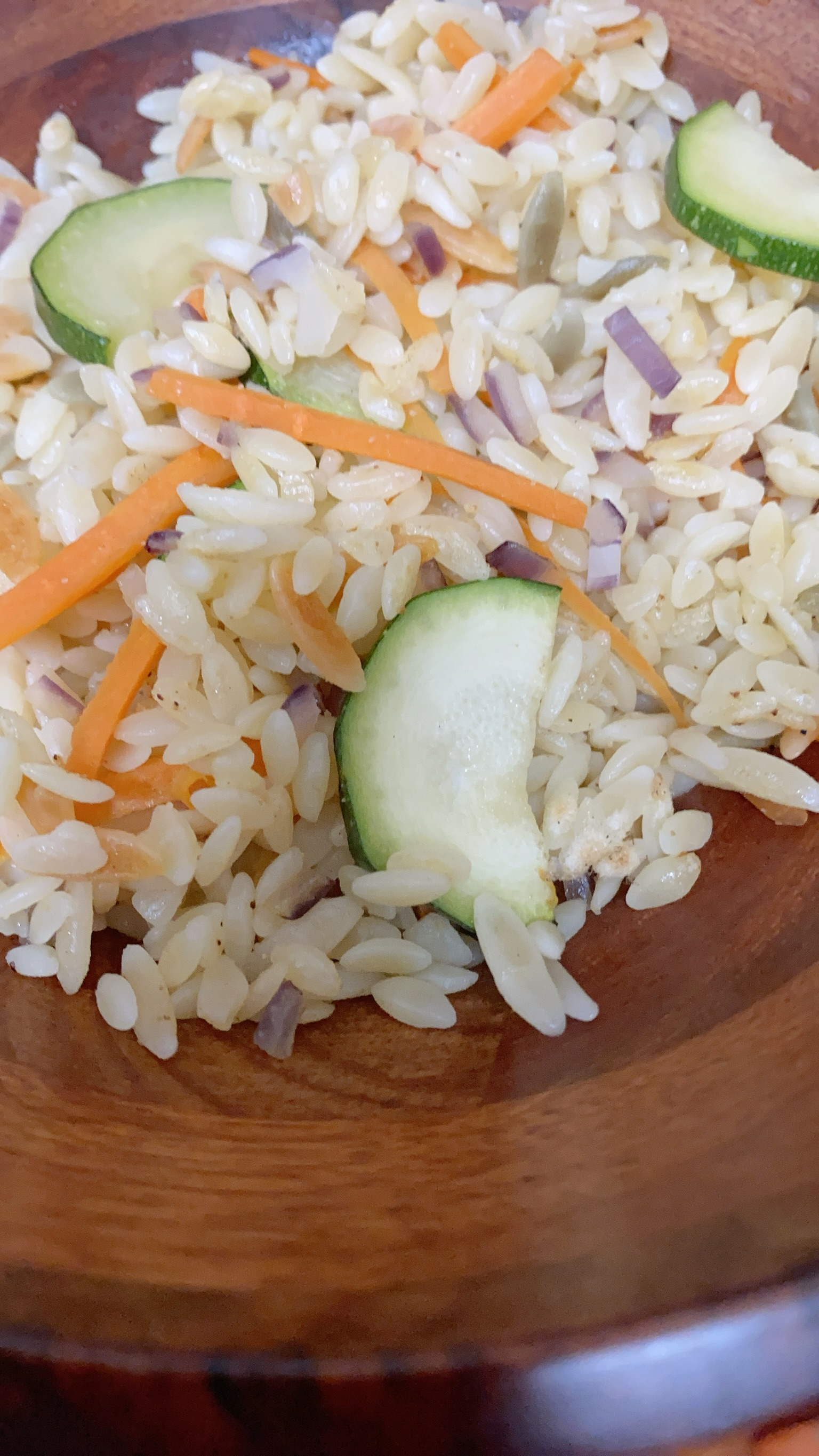 Vegetable Orzo thedailygourmet
