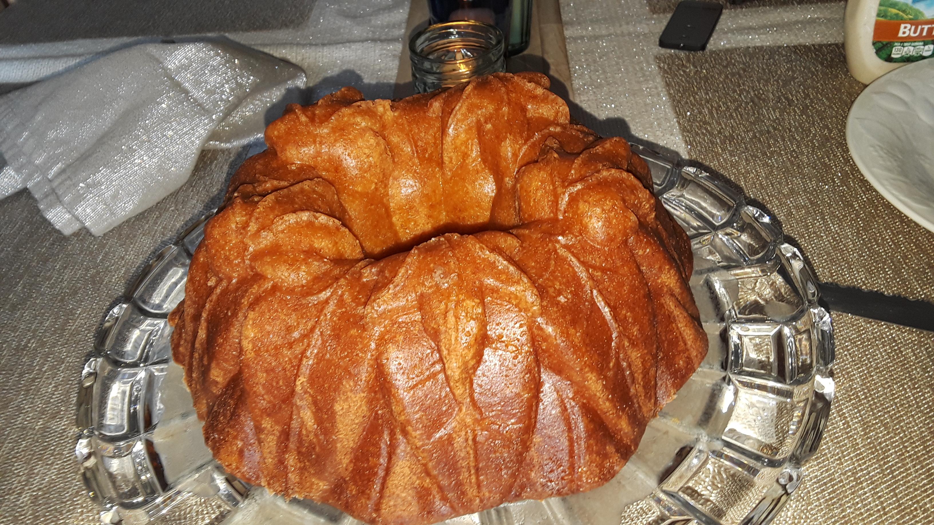 Rum-Pineapple Pound Cake Twinkie