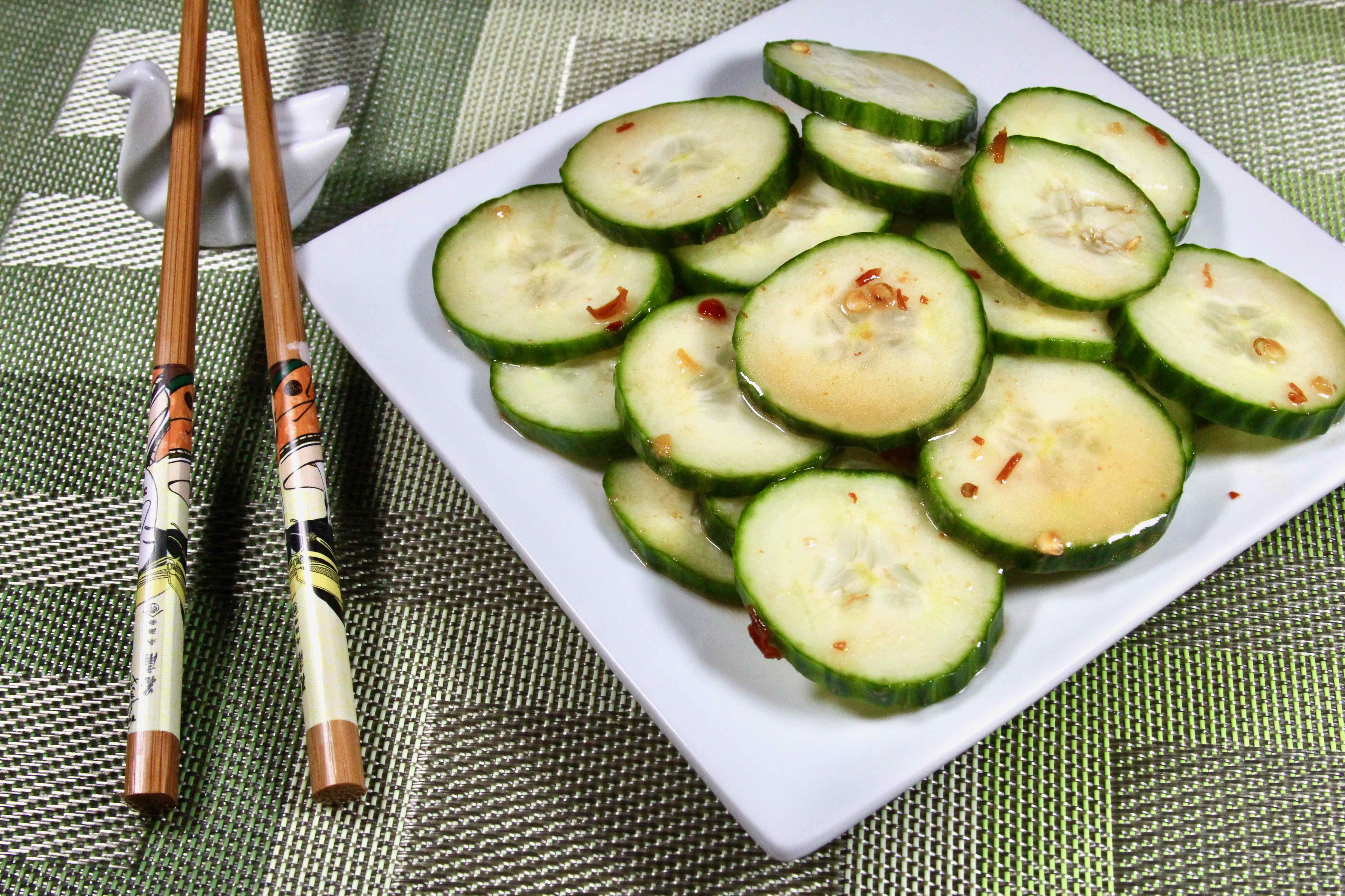 Japanese Restaurant Cucumber Salad