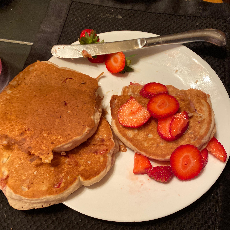 Vegan Blueberry Pancakes Robin Ironhorse