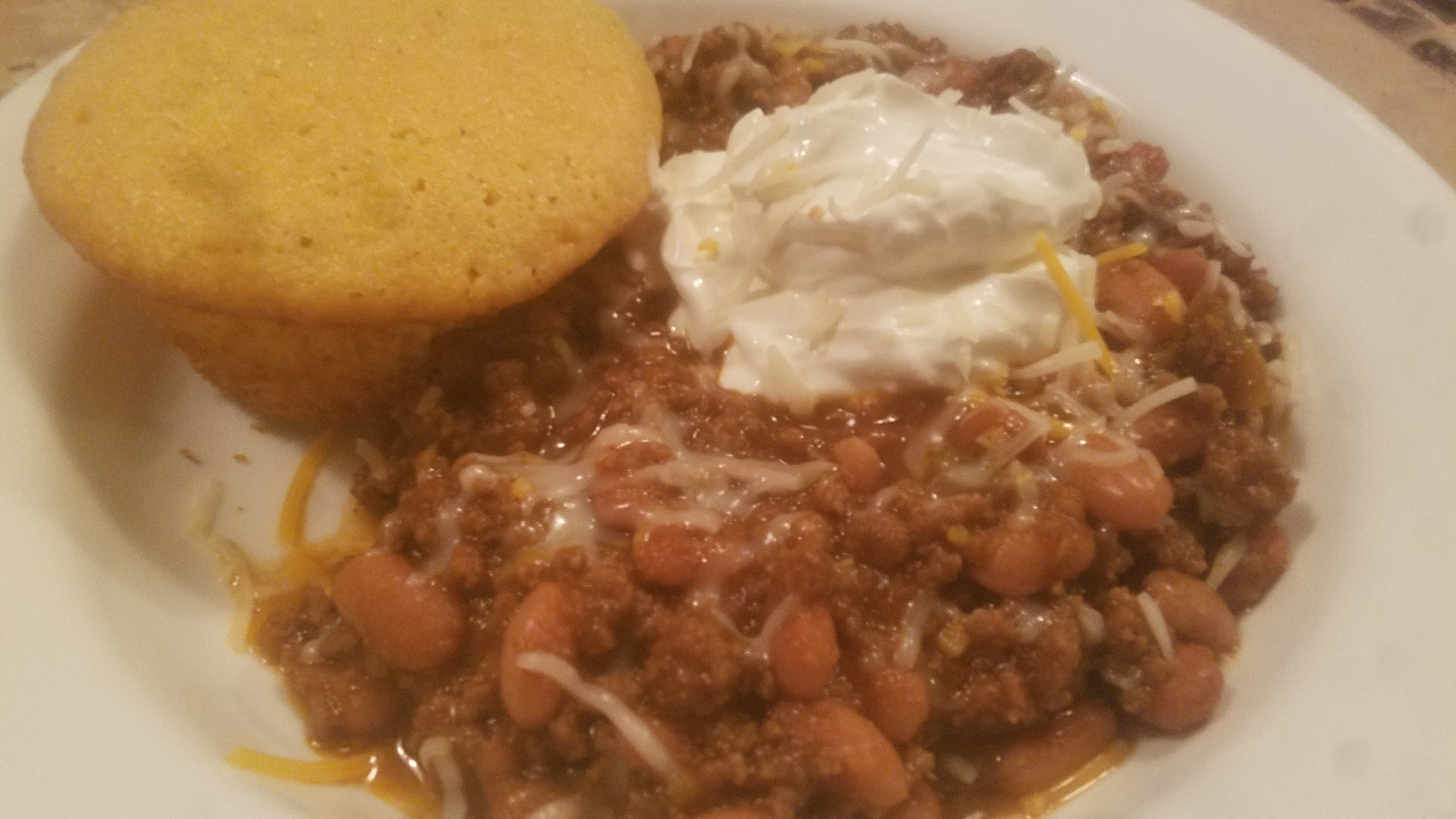Beef, Bean, and Beer Chili Tim