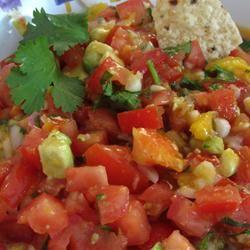 Avocado, Tomato and Mango Salsa Daisy Mae