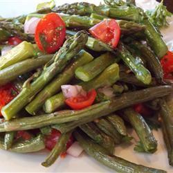 Green Bean and Asparagus Salad Baking Nana