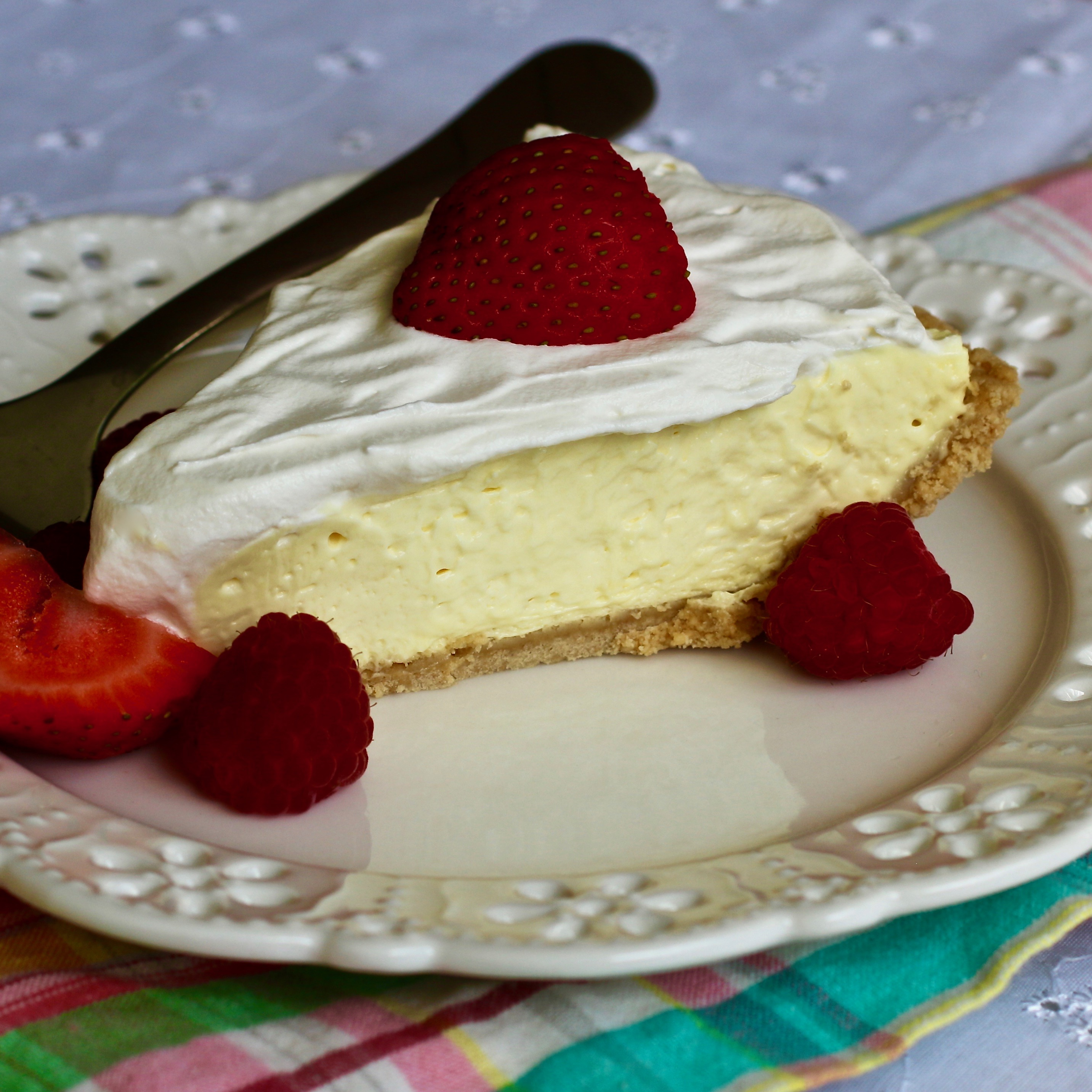 No-Bake Lemon Pie