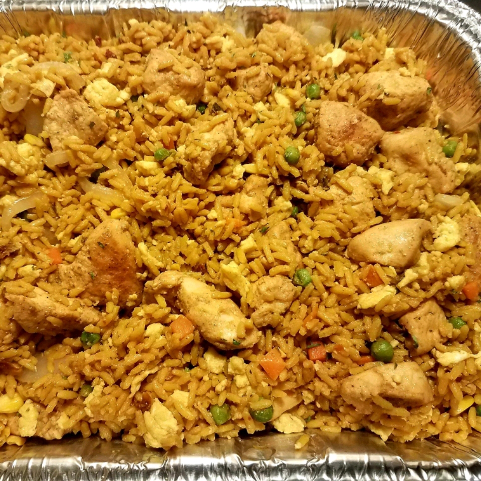 Bacon and Chicken Fried Rice Allen