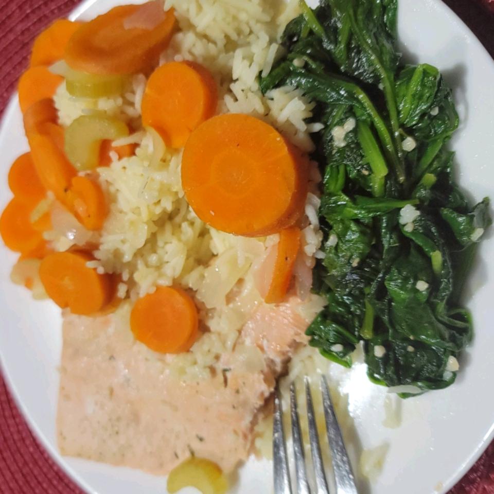 Poached Salmon I Patrice F.