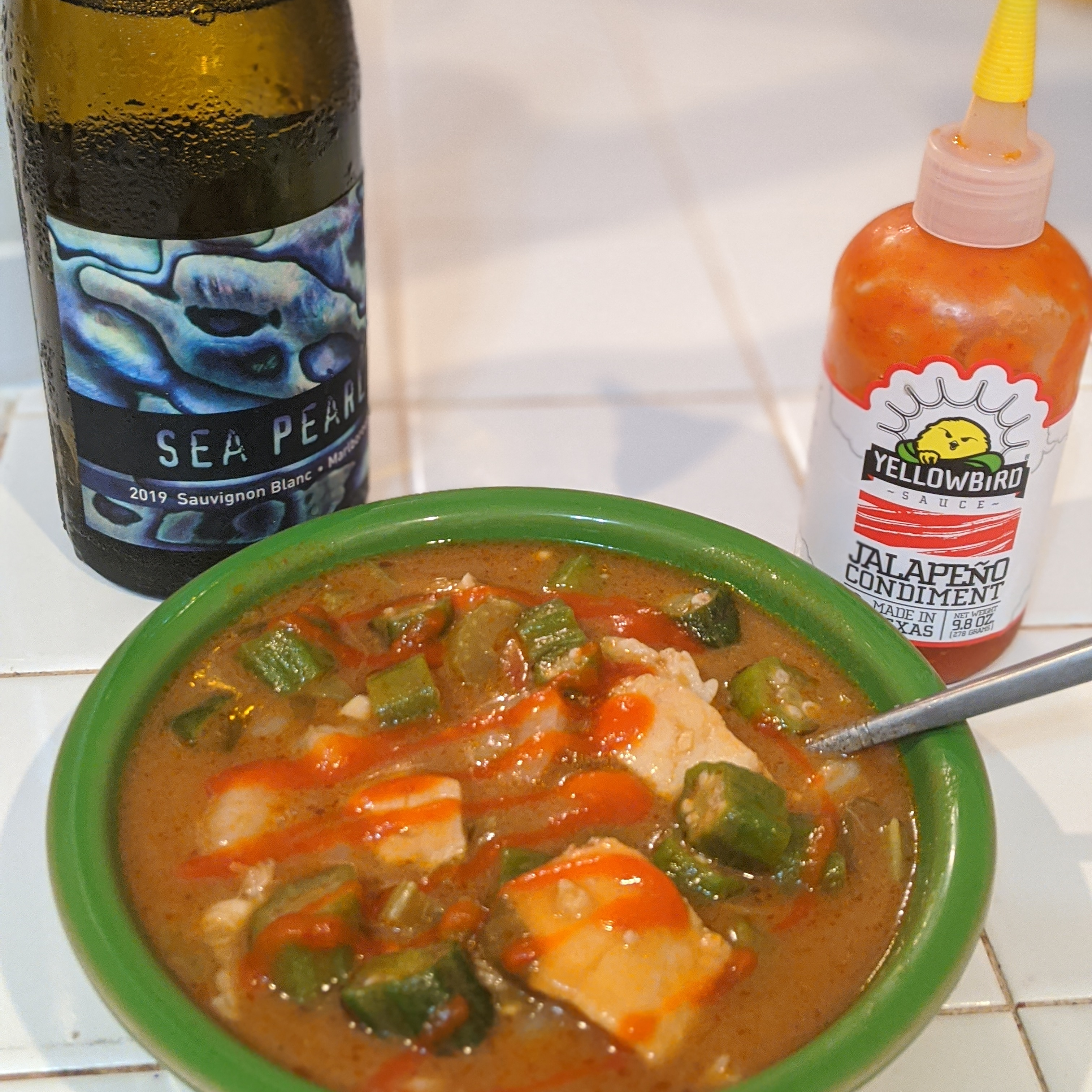 Roux-Based Authentic Seafood Gumbo with Okra Keren Jackson