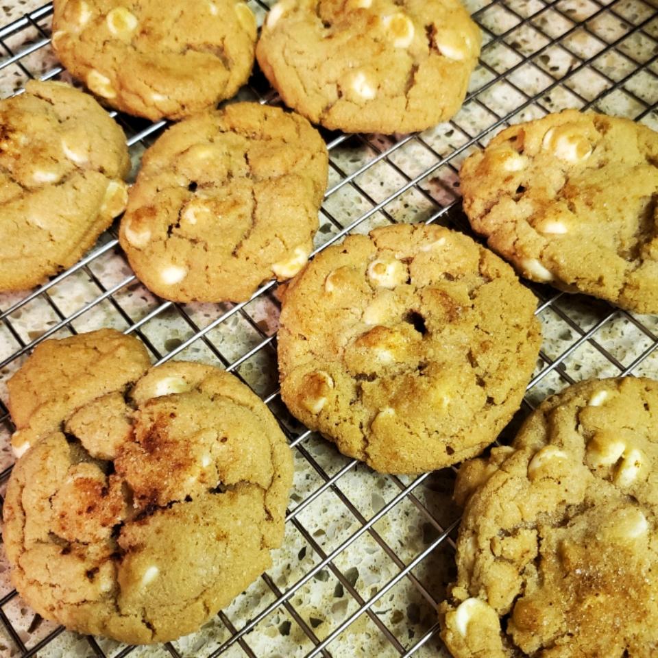 Cinnamon White Chocolate Cookies JMCFARLING