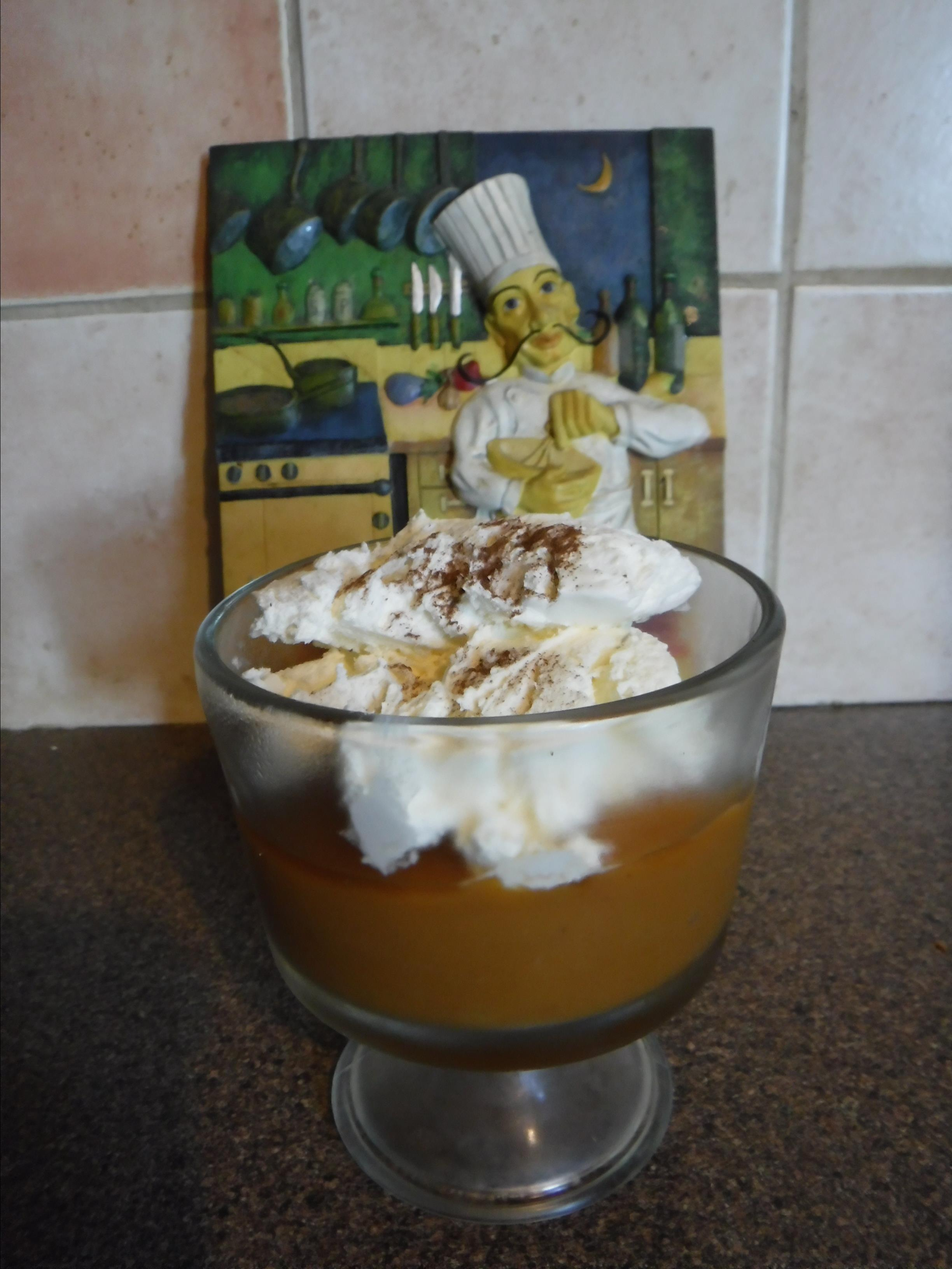 Skinny Pumpkin Pie Pudding Bernice