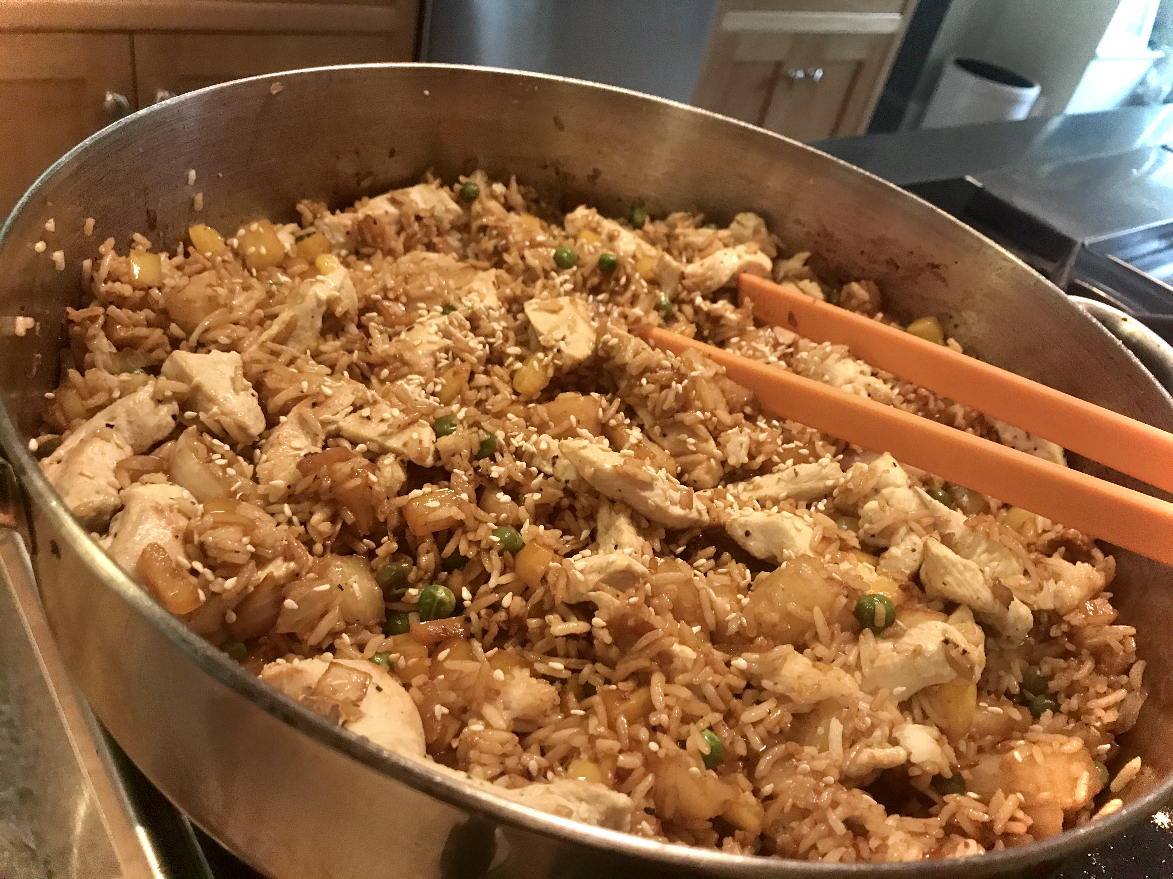 Quick and Easy Pineapple Fried Rice