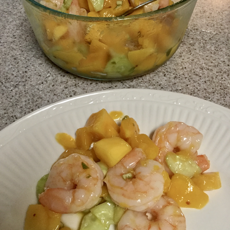 Mango Shrimp Salad Maureen Megill Larkin