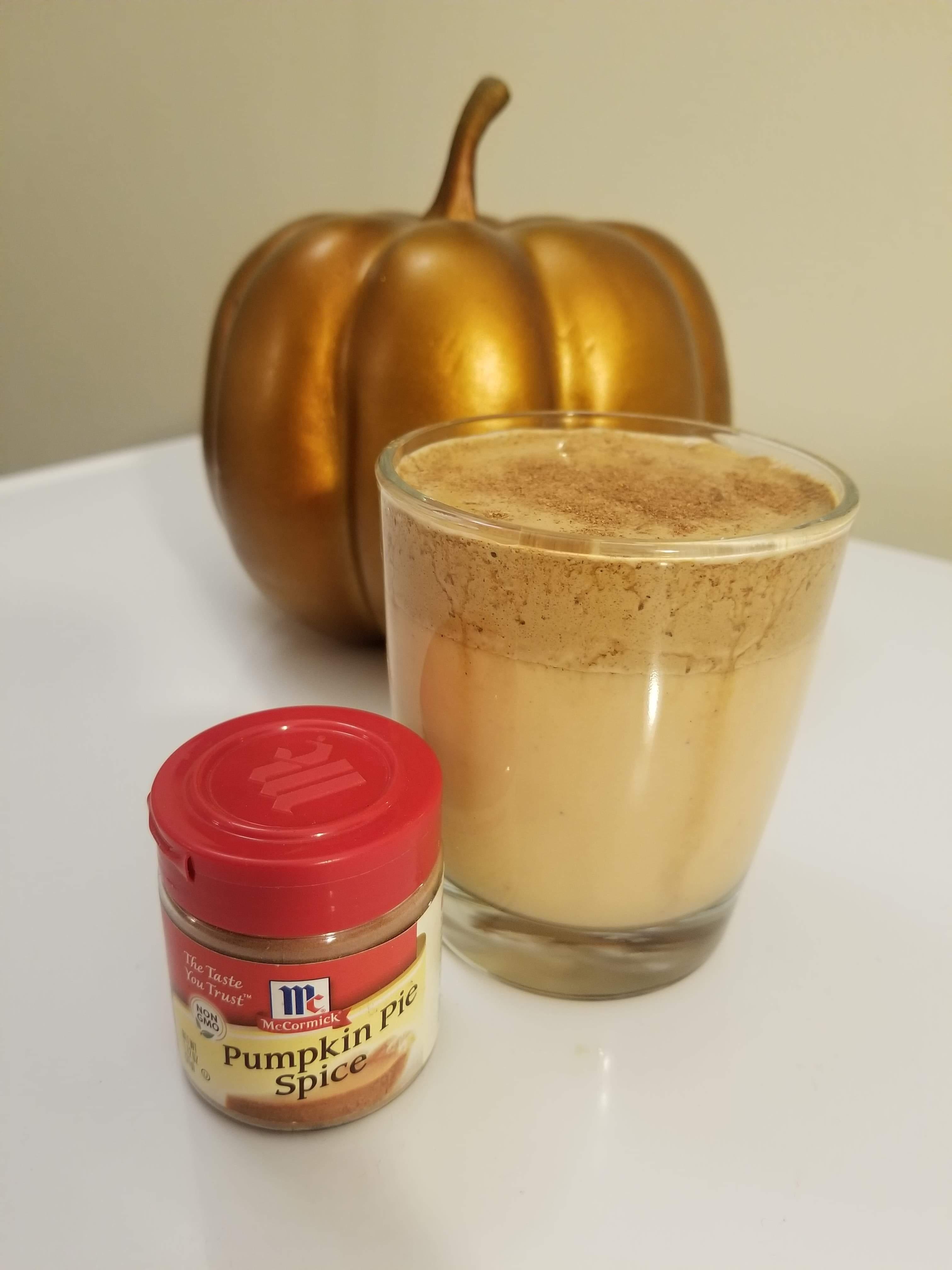 Whipped Pumpkin Spice Coffee