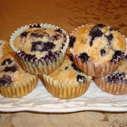 Bisquick® Blueberry Muffins Paula