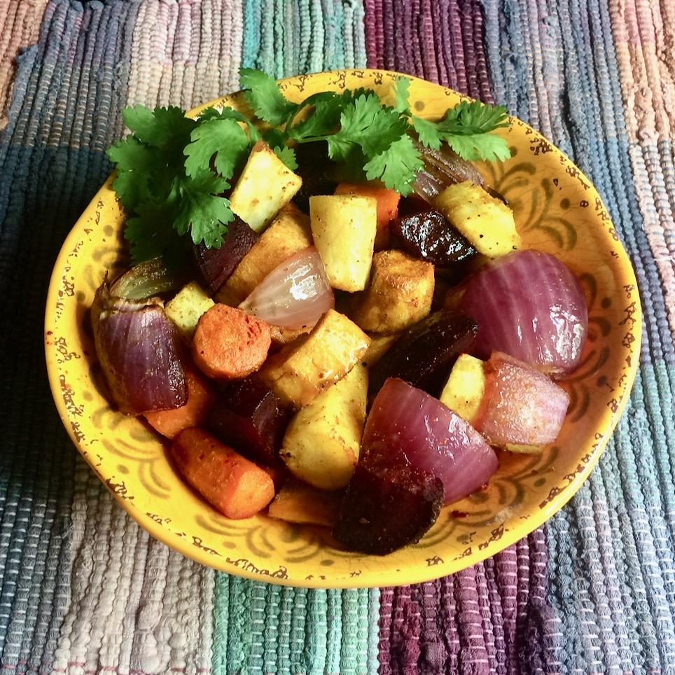 Taste of India Roasted Root Vegetables