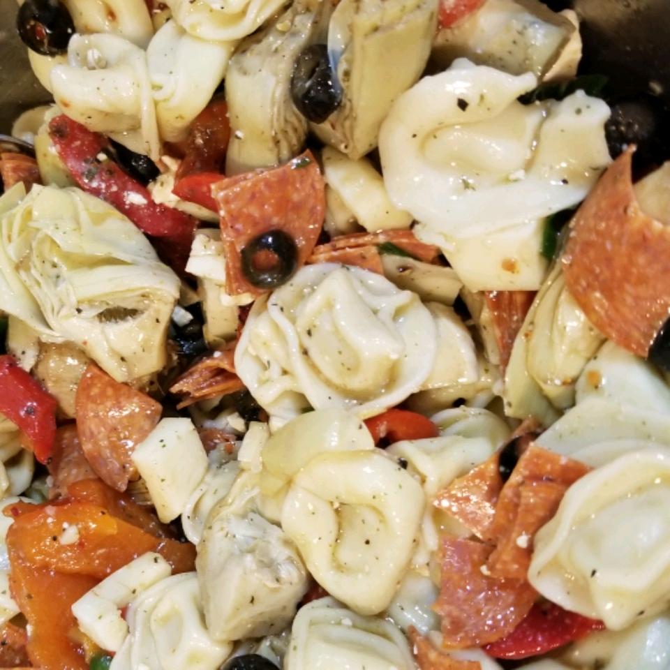 Tortellini Salad Rolf Sivertsen