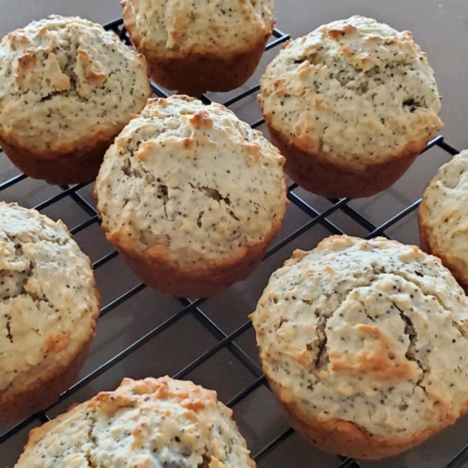 Double Oat Raisin Poppyseed Muffins Vern Toews