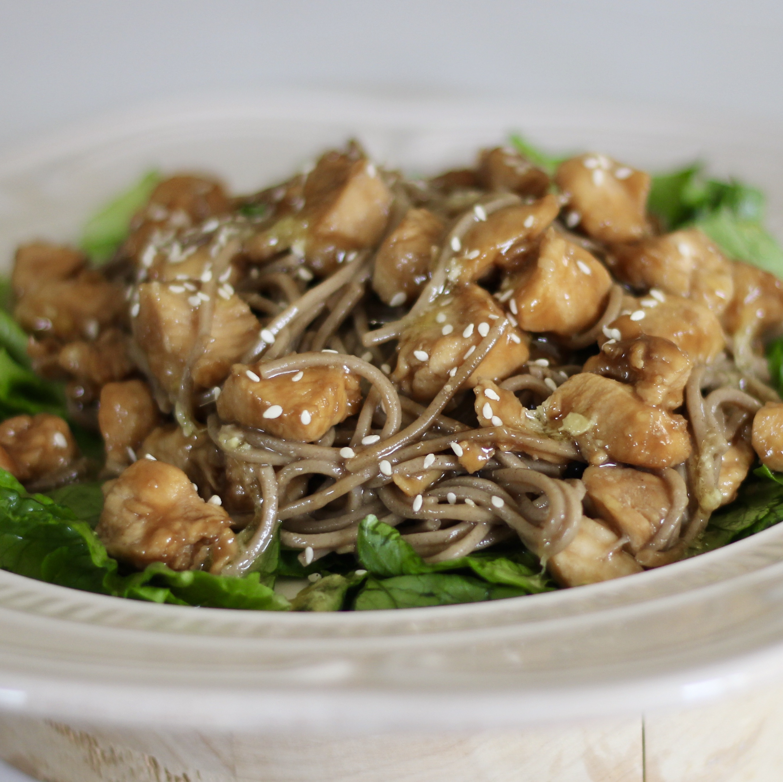 Sesame Chicken And Soba Noodles Recipe Allrecipes