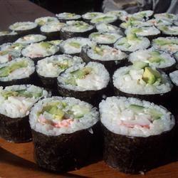 California Roll Sushi Sarah-May