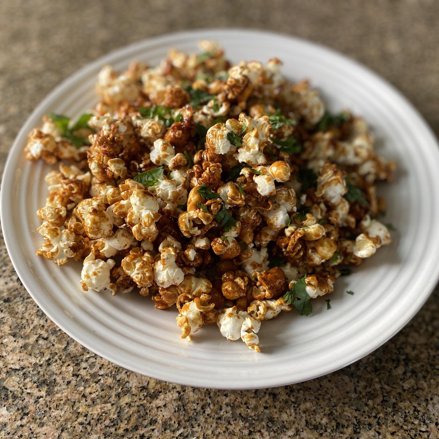 Pad Thai Popcorn Cooking is fun!