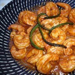 Shrimp a la Diablo Sharlene J McKee