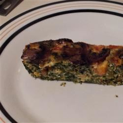 Crustless Spinach Quiche just_jam
