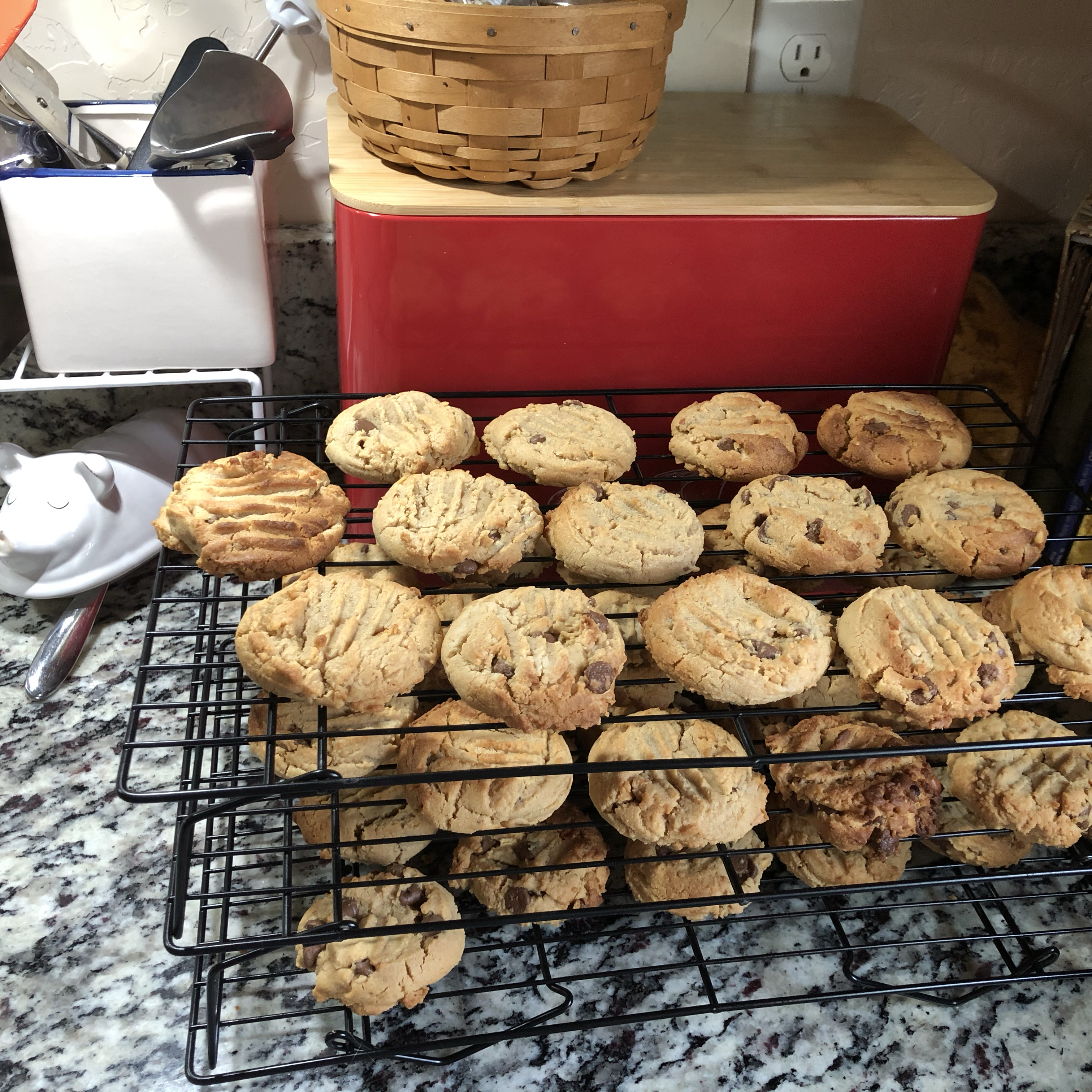 Chewy Peanut Butter Chocolate Chip Cookies Elsa Sand