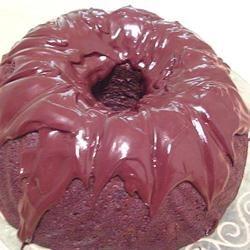 Satiny Chocolate Glaze