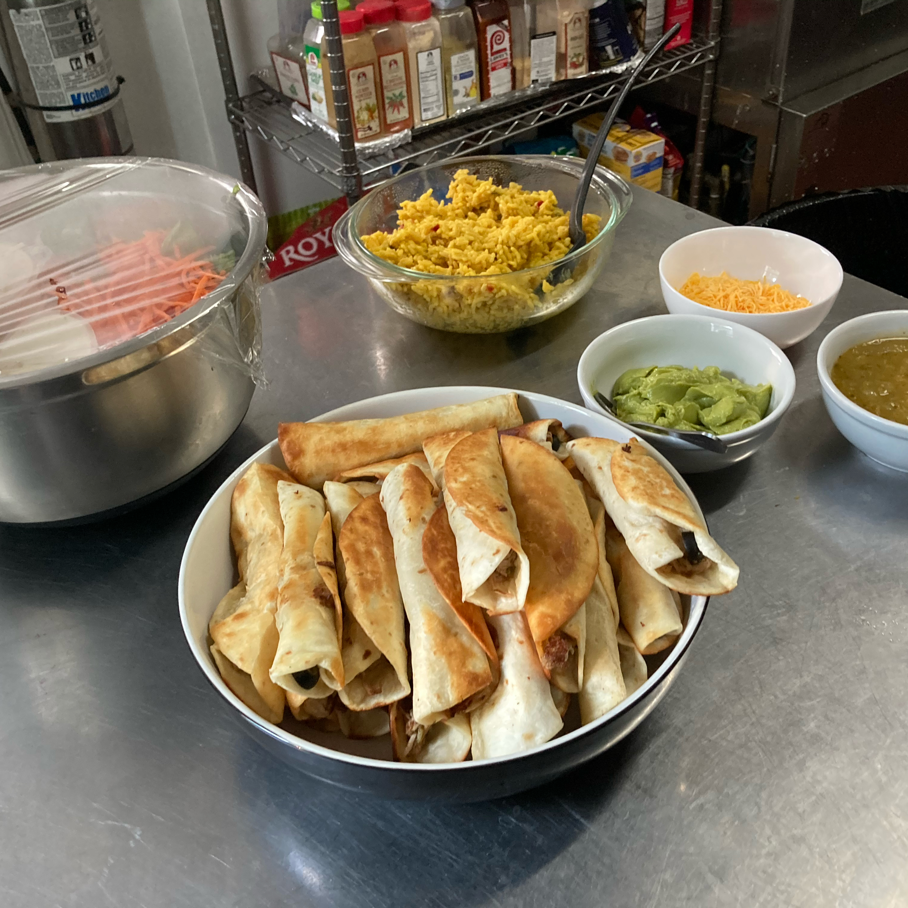 Carnitas Flautas (Pork Rolled Tacos)