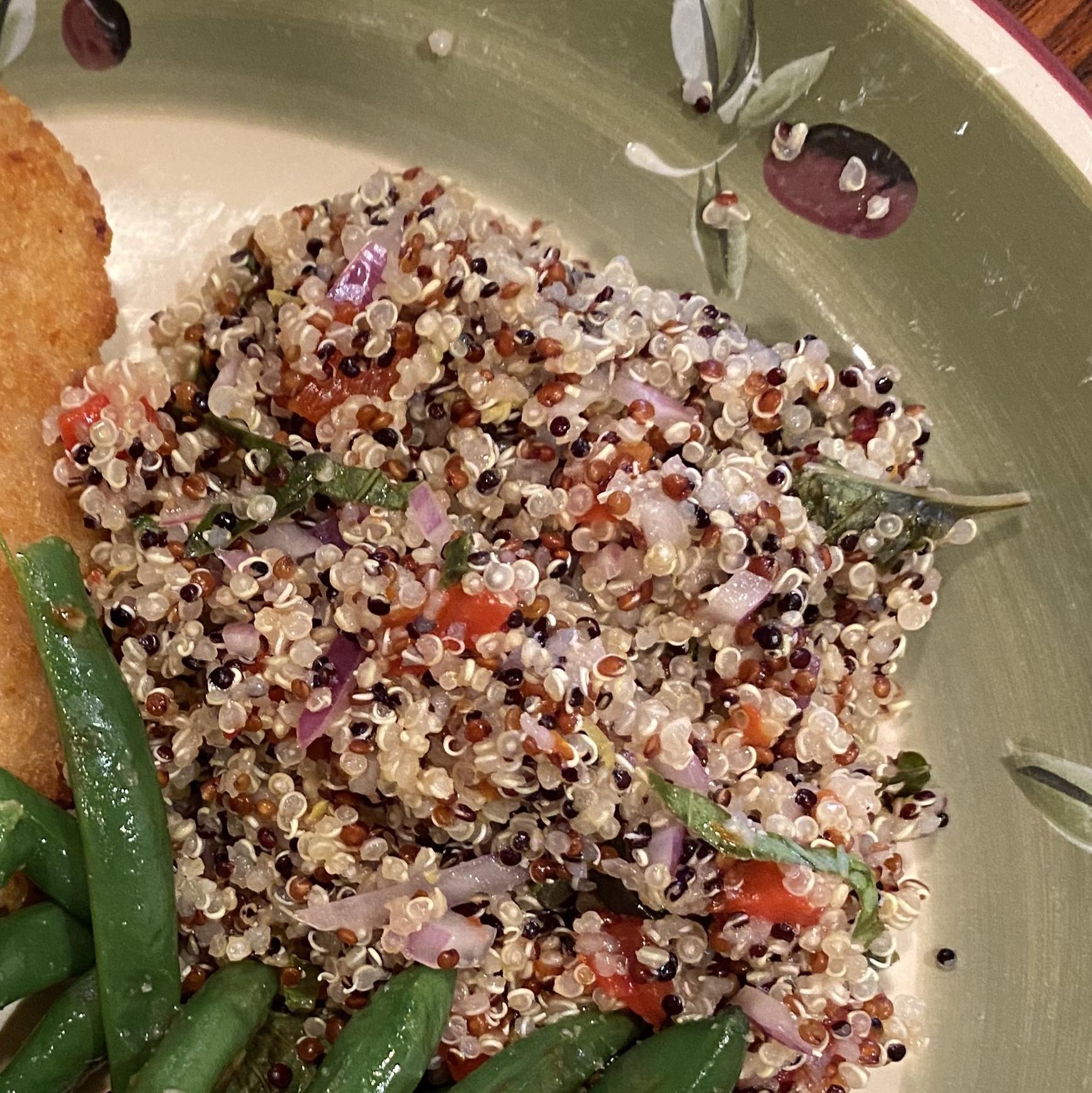 Lemon-Basil Quinoa Salad