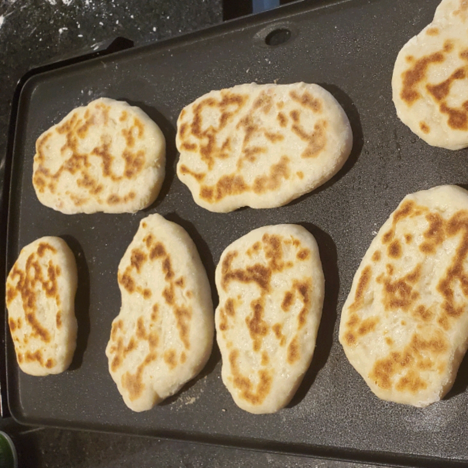 Two-Ingredient Naan Jeremy Munnerlyn