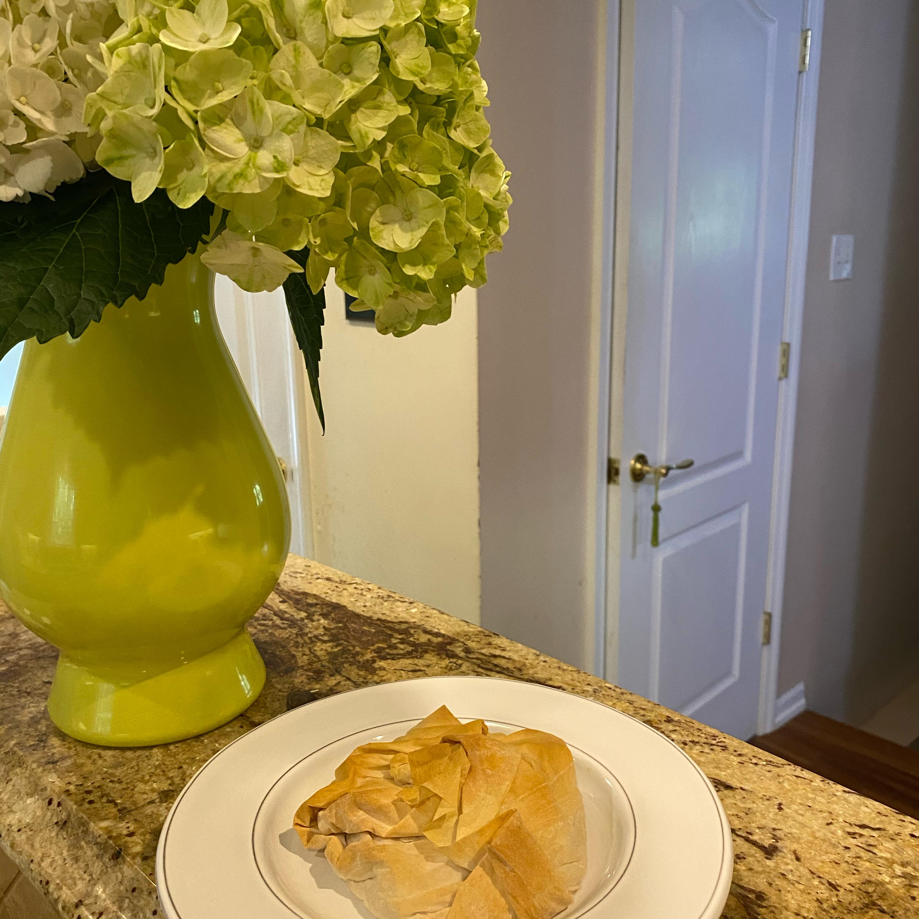 Baked Chicken Empanadas with Hatch Chile Yancando