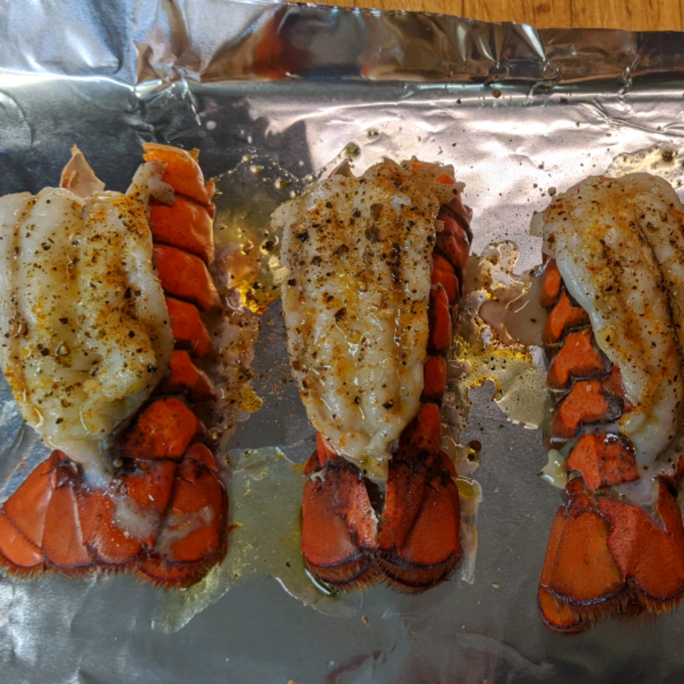 Grilled Rock Lobster Tails Rodney Sisson