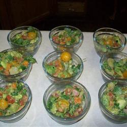 Avocado-Lime Shrimp Salad (Ensalada de Camarones con Aguacate y Limon) Angie Pegram
