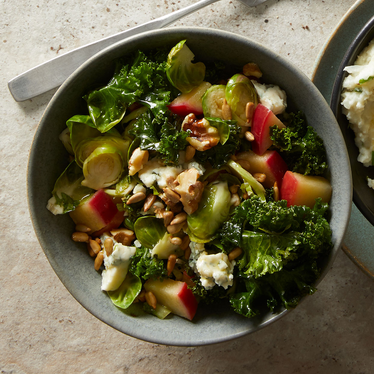 Wilted Greens with Warm Apple Vinaigrette Trusted Brands