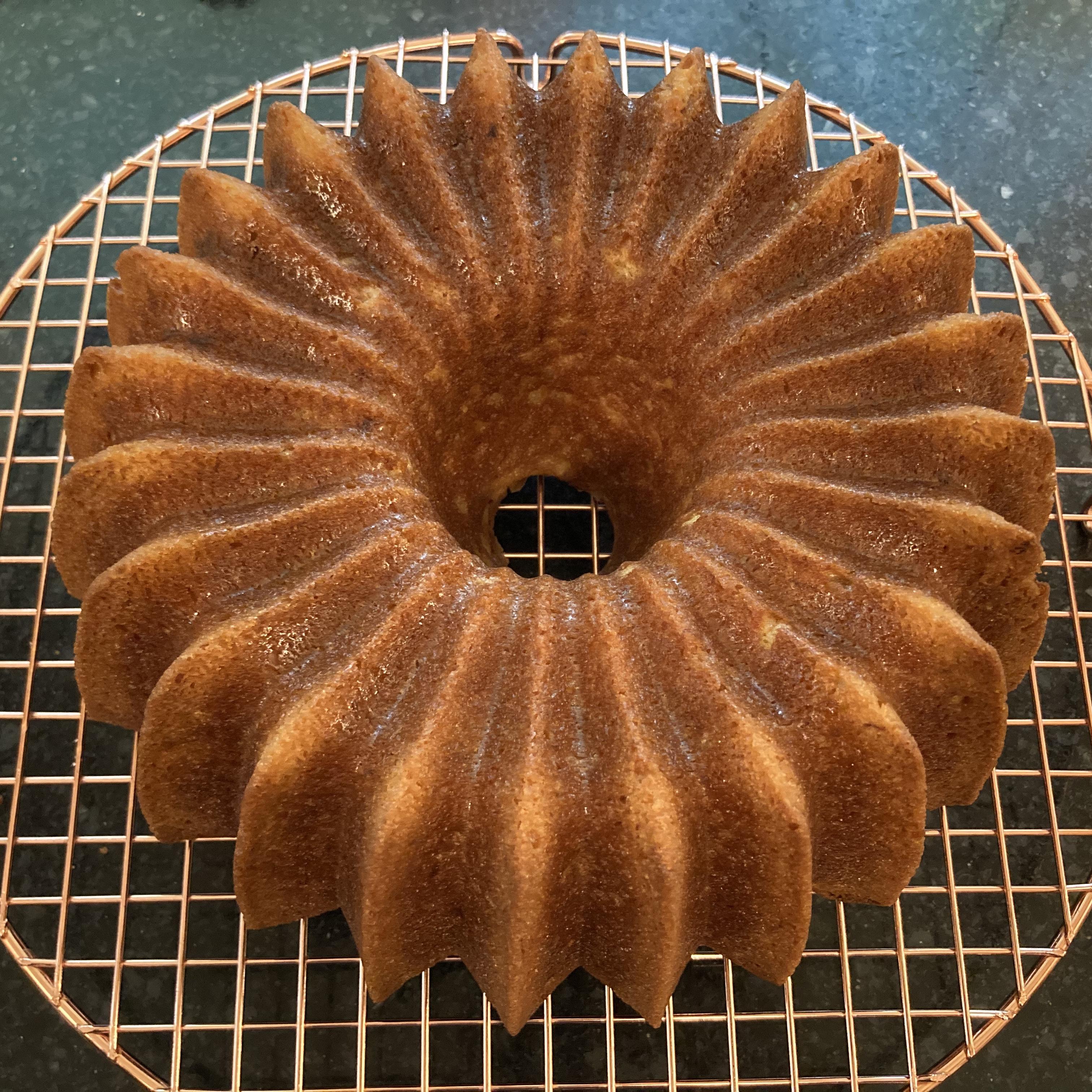 Gramma Bertha's Banana Cake