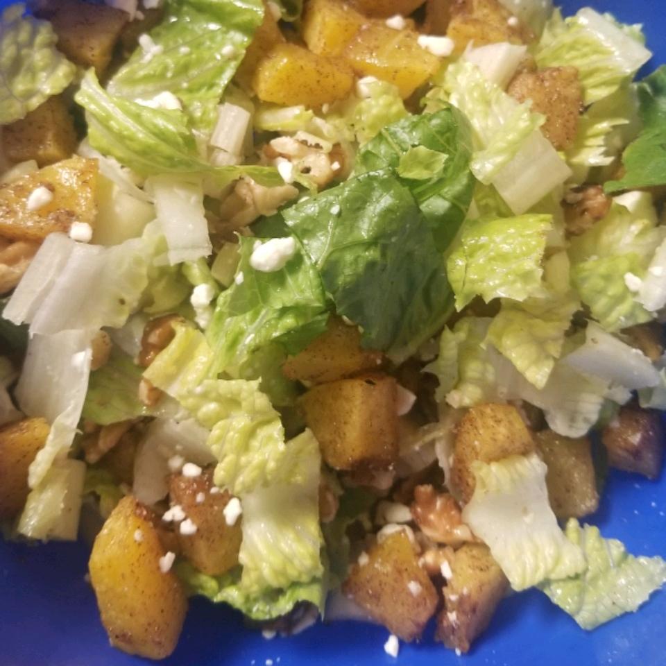 Roasted Acorn Squash Salad hubkap28